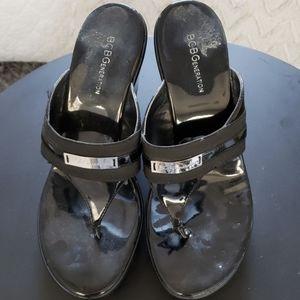 Black BCBG Sandal